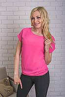 Блуза женская летняя розовая, фото 1