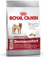 Royal Canin MEDIUM DERMACOMFORT - корм для собак средних пород с чувствительной кожей  3кг