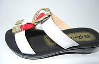 Модные  летние шлепанцы для девочки 24-29 р