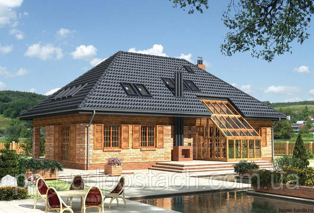 Вальмовая (четырех скатная) крыша