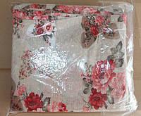 Постельное белье Евро размер жатка - Тирасполь большие цветы