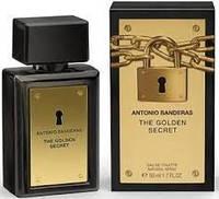 Туалетная вода Antonio Banderas The Golden Secret 100 ml(антонио бандерос)
