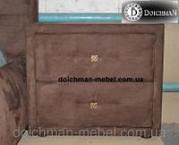 Тумбочки из ткани прикроватные для двухспальной кровати