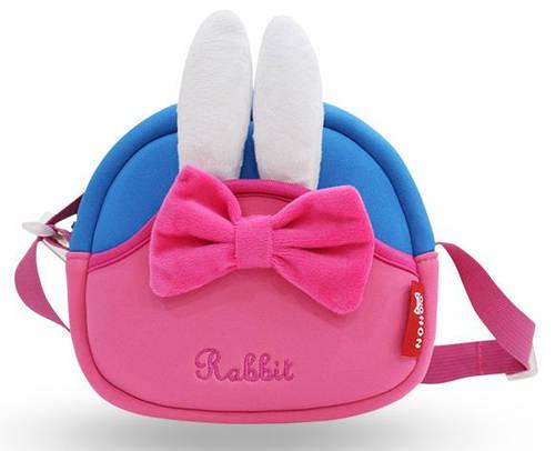 Стильная сумка Кролик  Nohoo NHK006 розовый