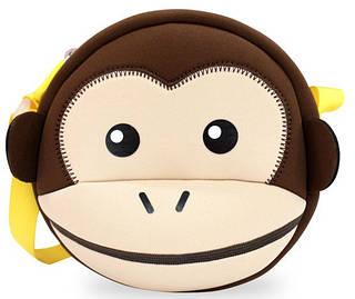 Красивая коричневая детская сумочка  Nohoo NHK008-1