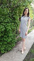 Легкое женское летнее платье из натуральной ткани
