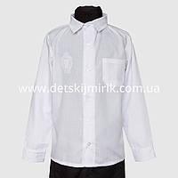 Школьная рубашка для мальчика, длинный рукав