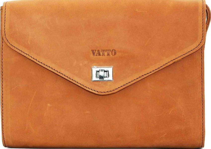 Оригинальная женская сумка из натуральной кожи VATTO Wk4 Kr190, рыжий