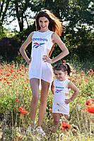 Женское платье с топом мама+дочь Reebok Рибок
