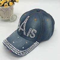 Джинсовая кепка Paris