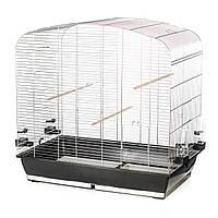 Клетка для попугаев Inter Zoo P163 цинк (780*475*790)