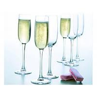 Набор бокалов для шампанского LUMINARC VERSAILLES  6 шт (160 мл) G1484