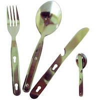 Набор вилка+ложка+нож Tramp