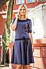 Платье женское с воротником +пояс, фото 2