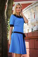 Платье женское с воротником +пояс, фото 1