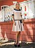 Платье женское с воротником +пояс, фото 4