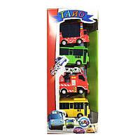 Набор игрушечных машинок 30557 Tayo