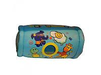 Надувной валик для детей с погремушками, голубой, Bestway