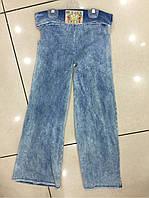 Детские котоновые джинсы, для девочек 128-164