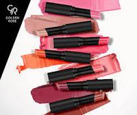 Помада для губ «GOLDEN ROSE» Sheer Shine Stylo Lipstick