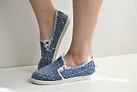 Эспадрильи кеды джинсовые Fashion с 36 по 41