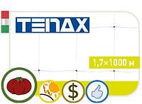 """Сетка полипропиленовая огуречная """"Ортинет Tenax"""" 1,7х1000 м. Зеленая."""