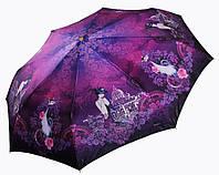 Женский зонт Три Слона  САТИН ( полный автомат ) арт.141-11