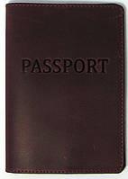 Обложка на паспорт натуральная кожа все цвета