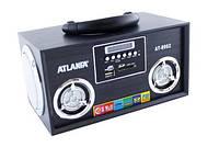 Портативная колонка радиоприемник ATLANFA AT-8962