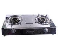 Портативная газовая плита Gaes-Z 16410/2, газовая плита с двумя конфорками, газовый таганок переносной