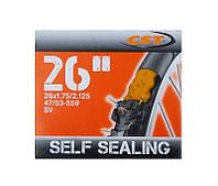 Велокамера CST 26 Self Sealing, с антипрокольной жидкостью