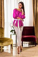 Костюм женский  блузка и брюки, фото 1