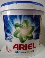Стиральный порошок для белья 9 кг Whites+Colors универсальный Ariel Lenor 120 стирок   ариэль