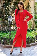 Платье женское асиметрия, фото 1