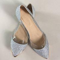 Яркие женские балетки. Оригинальный дизайн. Высокое качество обуви. Удобные балетки. Купить онлайн. Код: КД146