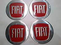 Наклейка на колпак диска Fiat 90 мм