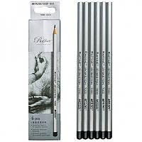 Набор карандашей для черчения 6 шт. MARCO 7000 MIX