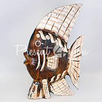 Деревянная статуэтка «Рыбка», h-31 см.