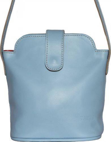 Качественная женская сумочка из натуральной кожи VATTO Wk49 Sp5, голубой
