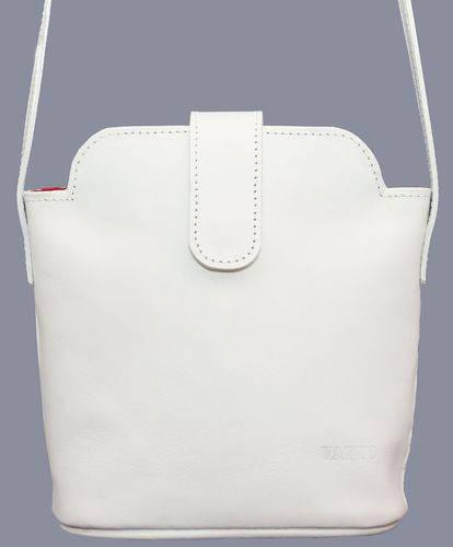 Вместительная женская сумочка из натуральной кожи VATTO Wk49Sp2, белый