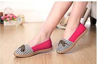 Оригинальные женские балетки. Качественная обувь. Удобные балетки на низком ходу. Интернет магазин. Код: КД148