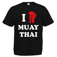 """Футболка """"I love Muay Thai"""" (муай тай)"""