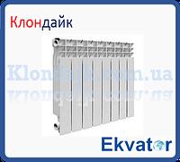 Радиатор биметаллический Ekvator  500х80