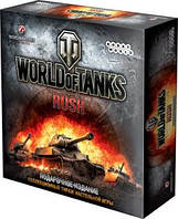 Настольная игра World of Tanks: Rush - Подарочное Издание