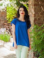 Легкая летняя блуза свободного кроя