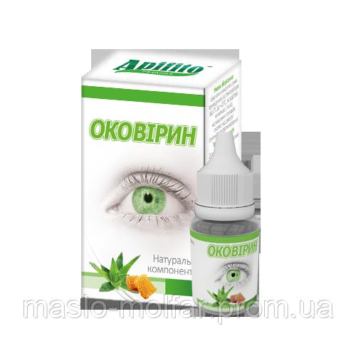 оковирин глазные капли инструкция