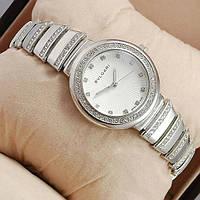 Часы женские Bvlgari Металлические серебряные