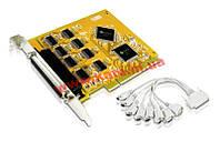Конвертер 8-портовая PCI карта для RS-232, Функция Plug and Play, ATEN. (IC-108S)