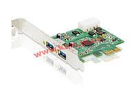 PCI-E x8 USB 3.0 контроллер (2 порта USB 3.0), ATEN. (IC-320U)