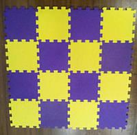 Мягкое напольное модульное покрытие для детской 25*25